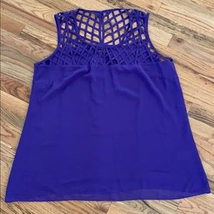 Lattice weave top